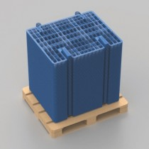 One-Piece Plastic Brickguard