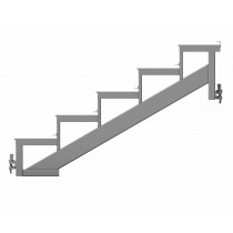 Stairway Stringer - U Transom