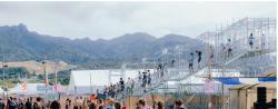 Proscaf Bridge Keeps SoundSplash Festival Attendees Moving