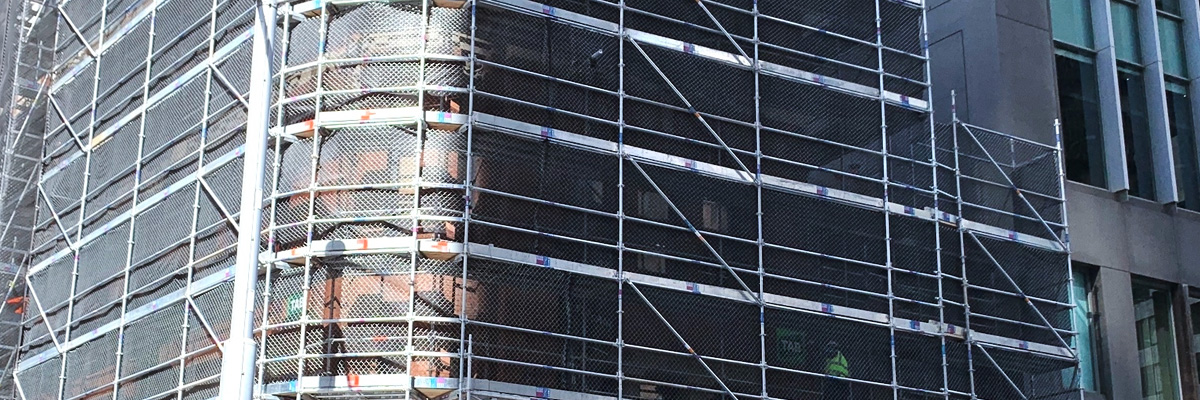 GM Takes Metropolitan Hotel Scaffold Design to Infinity