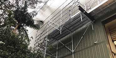 Cantilevered/Spurred Scaffolds